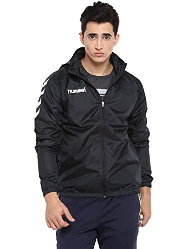 Hummel Jungen Jacke CORE Spray Jacket, Black, 164-176