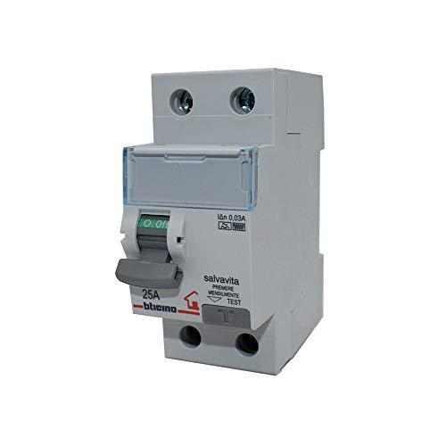 Interruptor diferencial salvavidas puro - Bticino Legrand F81S/32