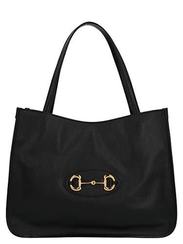 Gucci Luxury Fashion Donna 6236941U10G1000 Nero Borsa Shopping |...