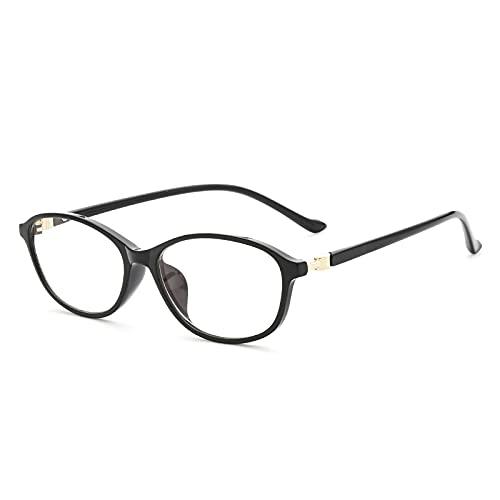 老眼鏡 おしゃれ レディース ブルーライトカット 軽量 人気 女性 ブランド 軽い リーディンググラス シニアグラス 8212 (ブラック, 3.50)