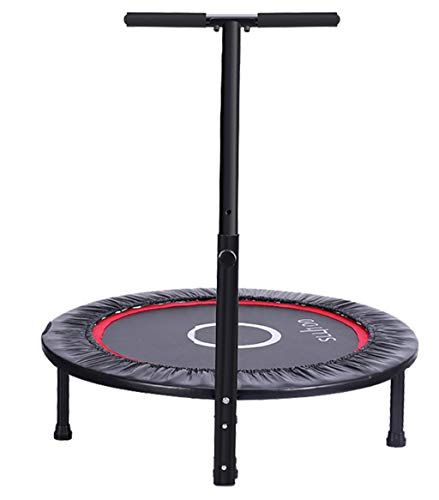 Xuping Folding Household Trampoline Weight Loss Trampoline Mute Adult Children Indoor Gym Small Trampoline (Size : D)