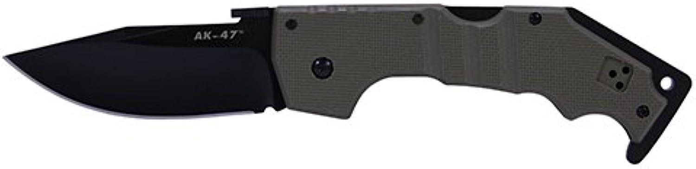 Cold Steel 58TLAKVG Taschenmesser AK-47, Sonderotition, 4 Zoll, Olivgrün Klappmesser Jagdmesser
