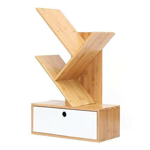 YBWEN-OSB Aufbewahrungsbox für Büromaterial Schreibtisch-Organisator mit 1 Schubladen für Büro und Zuhause Erweiterbares, einstellbares Bücherregal Ablagekorb (Farbe : White, Size : 185x400x600mm)