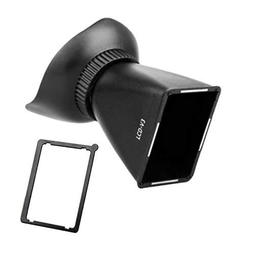 WEI-LUONG Tools SLR-Kamera-LCD-Sucherlupe, Erweiterungsabdeckung, LCD-Bildschirm, Kameralupe, Sucher, Sonnenschutz, Lupe (Kaliber: V3)