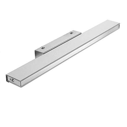 HIZLJJ LED-make-up licht voor badkamer / badkamer / aankleedplank, waterdicht, anti-condens-spiegellamp (kleur: wit licht)
