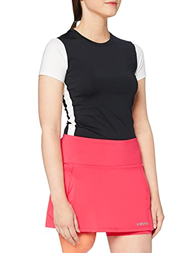 HEAD Club Basic Skirts, Donna, Rosso, S