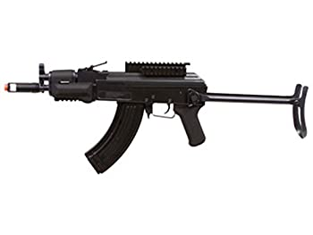GAME FACE GF76 Electric Full/Semi-Auto Tactical-Style Carbine Airsoft Rifle with Battery Charger Black