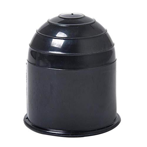 Homyl Schutzkappe Anhängerkupplung Kugelschutzkappe Abdeckkappe Schwarz