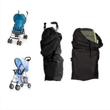 liltourist Kinderwagen Transporttasche, Reisetasche mit Trageriemen, Schutztasche (schwarz)