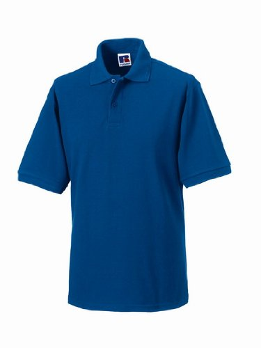 Russels Workwear - Polo - - Polo - Col polo - Manches courtes Homme - Bleu - Bright Royal - Large