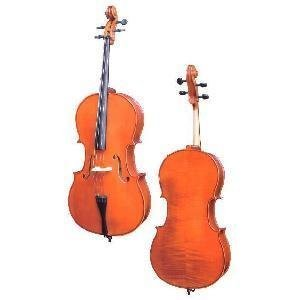 D Z Strad handmade Student Cello Model 101 w/Case, Bow and Rosin (4/4 - Full Size)