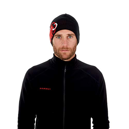 Mammut Mütze Tweak Beanie, Black-Magma, one Size
