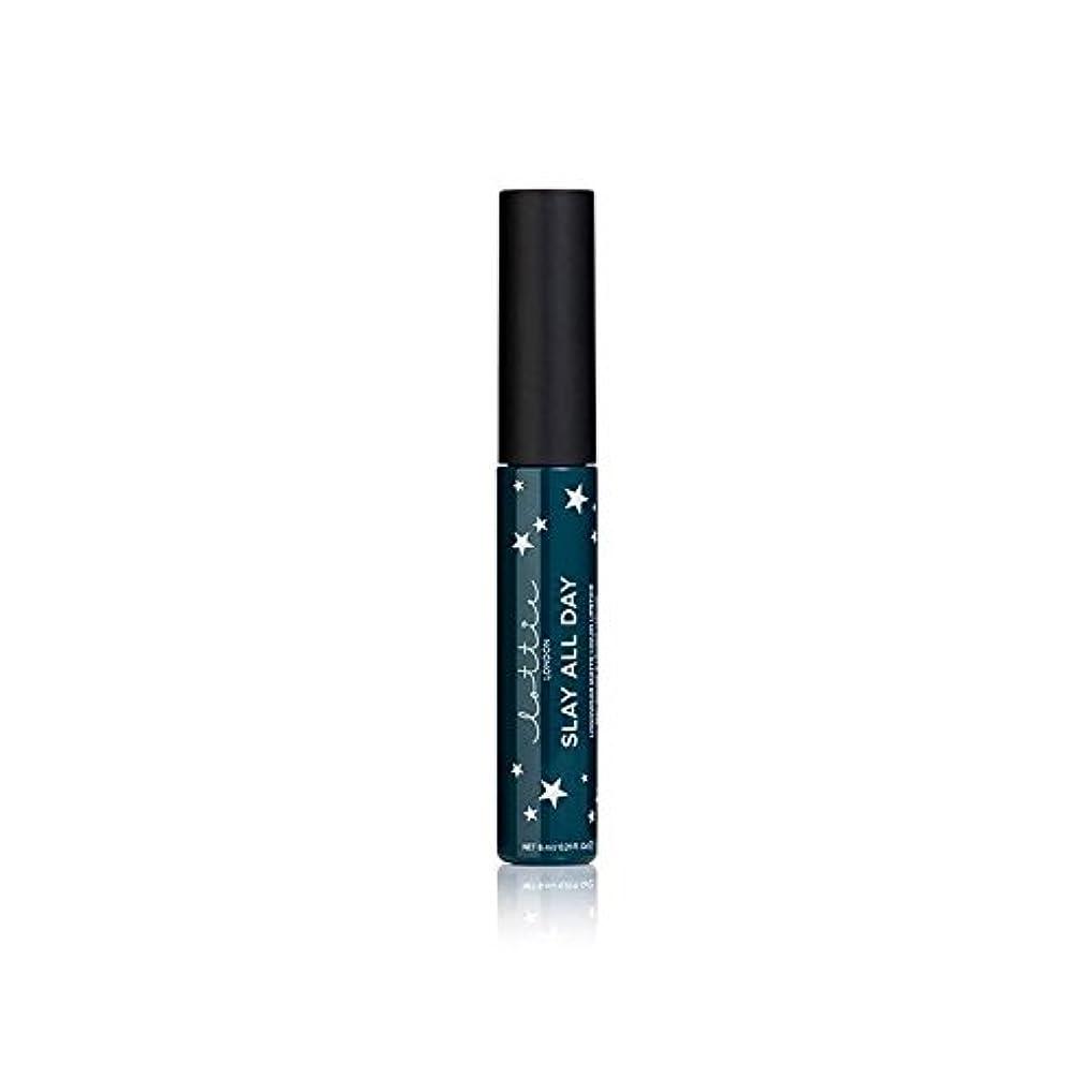 ゴシップピカソ形式Lottie London Matte Liquid Lipstick - Queen - ロンドンマット液状口紅を - 女王 [並行輸入品]