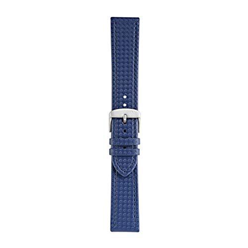 Morellato Cinturino unisex, Collezione SPORT, mod. Capoeira, in materiale tecnico - effetto fibra di carbonio - A01X4907977, 18mm
