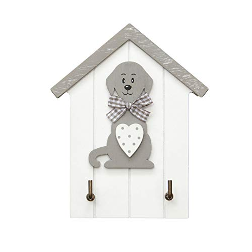 Colgador de llaves para pared en madera