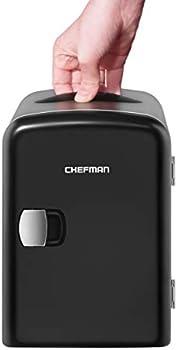 Chefman Mini Portable Compact Personal Fridge