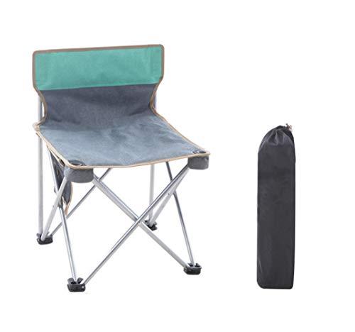 Loo LA Draagbare campingstoel-opvouwbare rugleuning stoel in A draagtas, outdoor trekker, camping, beachg