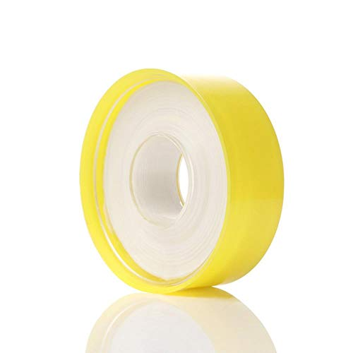 Heng Tape Thread Tealing Tape Stronger Water Pipe Roll Pipe Sealed Thread Tape Raw Patching Material Tape Plumbing Fitting, 25mx2.5cm
