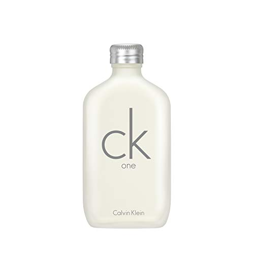 Calvin Klein One Edt Vapo Eau de Toilette, Blanco/Plata, 100 ml