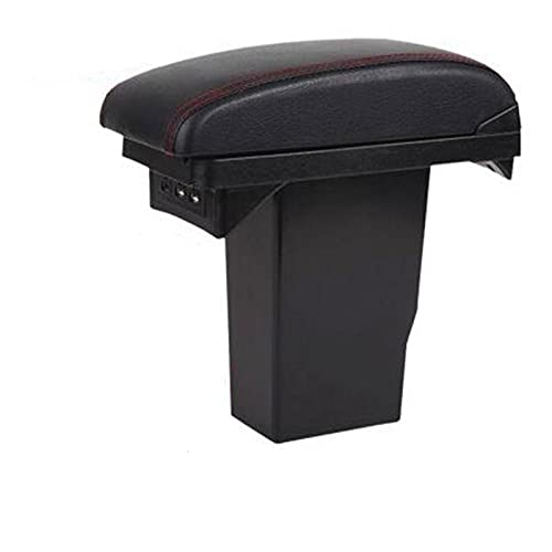Zyuan Reposabrazos para Peugeot 2008 BOUREST Box COCTOR Caja DE Almacenamiento Caja DE MODIFICACIÓN Accesorios Interiores ShanDD (Color : Headrest Only)