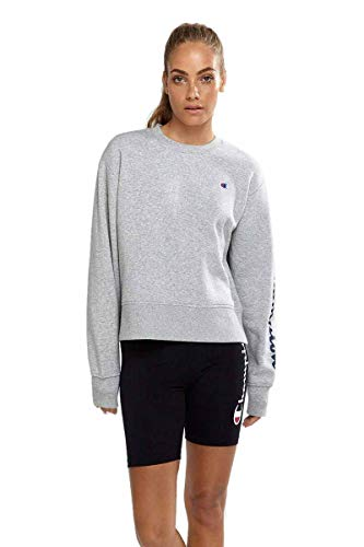 Champion Women's Sporty Pullover, Oxford Heather, Small