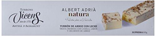 Vicens Turrón de Arroz con Leche Adrià Natura - 300 gr