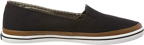 Tommy Hilfiger Damen Iconic Kesha Slip ON Sneaker, Schwarz (Black 990), 39 EU