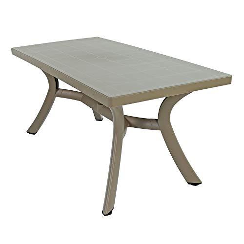 Nardi Toscana 160 Rectangular Dining Table Turtle Dove Mesa