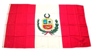Fahne Flaggen PERU 150x90cm