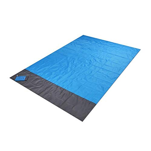 MDHANBK Alfombrilla de pícnic, tapete de pícnic, manta de playa portátil, cama impermeable, tapete de playa sin arena, colchón de tienda de picnic al aire libre