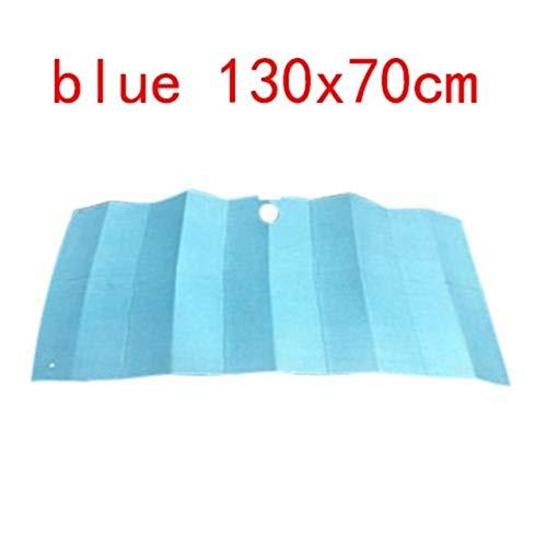 Parasol para coche Parabrisas delantero sombra del papel de aluminio de peso ligero acordeón plegable automático de protección solar bloquea los rayos UV parasol coche interior del protector Sombrilla