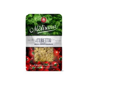 La Molisana Cubetto Pasta Corta, Solo Grano Italiano - 500G