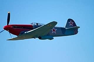 Yakovlev Yak-3 WWII Russian Fighter Plane War plane Poster Print by David Wall (26 x 18)