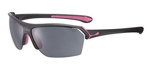 Cébé Wild Gafas de Sol, Unisex Adulto, Matt Black/Pink, Medium