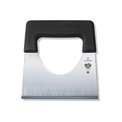 Victorinox Küchenmesser Käseschaufel Fibrox schwarz 9 cm Messer, Edelstahl, weiß, 15 x 9 cm, 350