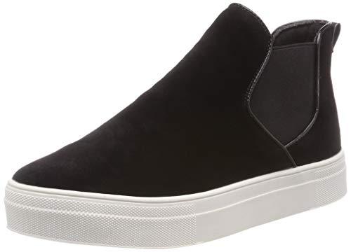 ICHI Damen A CAIA FW Slip On Sneaker, Schwarz (Black 10011), 36 EU