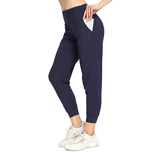 Mesily Sweatpants for Women-Womens Joggers with Pockets Lounge Pants for Yoga Workout Running