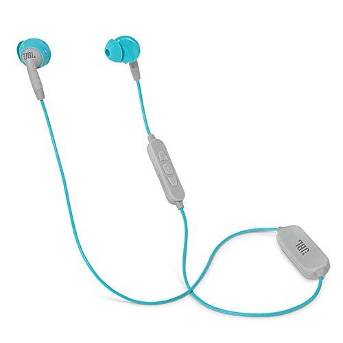 JBL Inspire 500 Dentro de oído Binaural Inalámbrico Turquesa, Blanco - Auriculares (Inalámbrico, Dentro de oído, Binaural, Intraaural, 20-20000 Hz, Turquesa, Blanco)