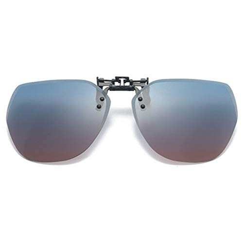Embryform clips de gafas de sol,Gafas de conducción nocturna,Clip en lentes,gafas de HD visión nocturna,polarizada fotocrómica,protectoras UV400 para Conducción y al Aire Libre