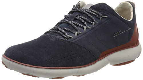 Geox Herren U Nebula C Sneaker, Blau (Avio C4005), 43 EU