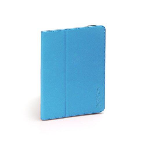 Capa Universal Fólio Protetora Para Tablets 7-8 Polegadas, Garras Ajustáveis, Proteção 360⸰, Base de Apoio, Azul, Fun78Bl, Geonav