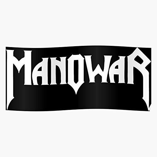 MARIANA Tour Manowar Music Band Metal World Beeindruckende Poster für die Raumdekoration, gedruckt mit modernster Technologie auf seidenmattem Papierhintergrund