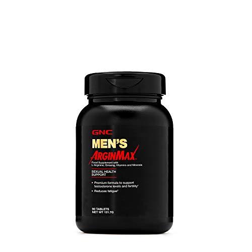 GNC Men's ArginMax, 90 tabletas, apoya el flujo sanguíneo y la vitalidad