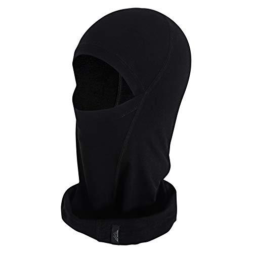 montoza Sturmhaube - Skimaske aus Merinowolle und Bambus-Viskose - Gesichtsmaske optimal für Ski, Fahrrad, Motorrad - Balaclava Damen & Herren, Winter