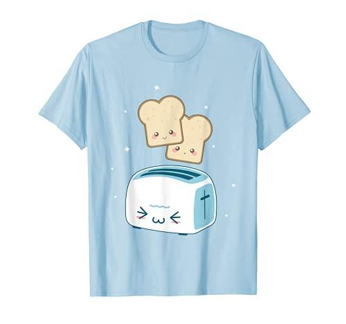 Toast kawaii Kleidung T Shirt–Anime Zeichnen