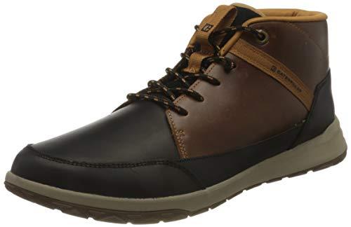 Cat Footwear Herren Quest Mid Hohe Sneaker, Black/Brown Sugar, 42 EU