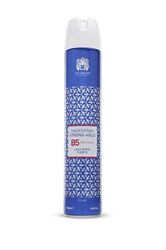 Válquer Profesional Laca capilar Spray Fuerte, Laca de Fijación para Cabello, Spray Fijado pelo. Laca peluquería. Pro vitamin B5.Vegana - 500 Mililitros