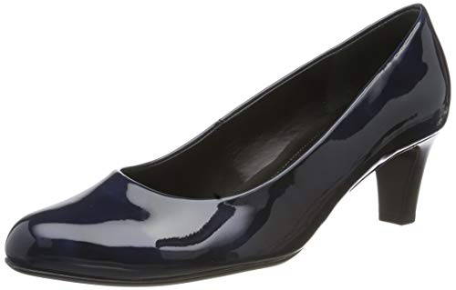 Gabor Shoes Damen Basic Pumps, Blau (Marine 76), 42 EU