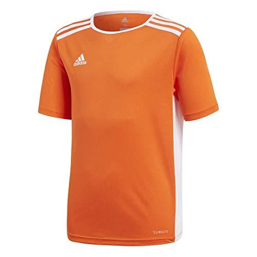 adidas Boys' Entrada 18 Jersey, Orange/White, X-Small