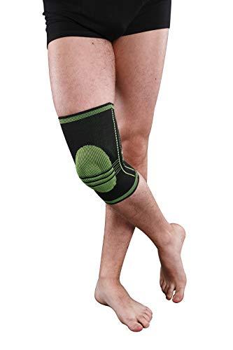 Hochwertige Kniebandage, Kniestütze mit Gelkissen im Kniebereich (S)